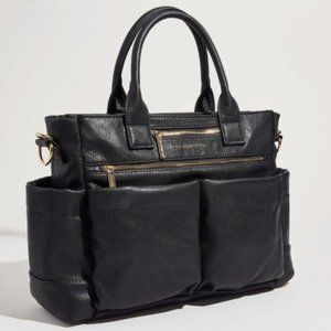 The Honest Company Vegan Leather Baby Diaper Bag